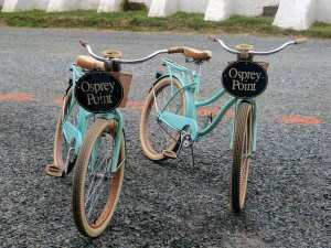 Complimentary Bikes at Gratitude